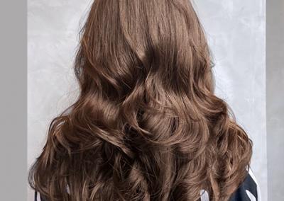 資生堂水質感燙髮